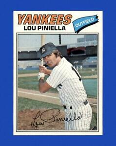 1977 Topps Set Break # 96 Lou Piniella NM-MT OR BETTER *GMCARDS*