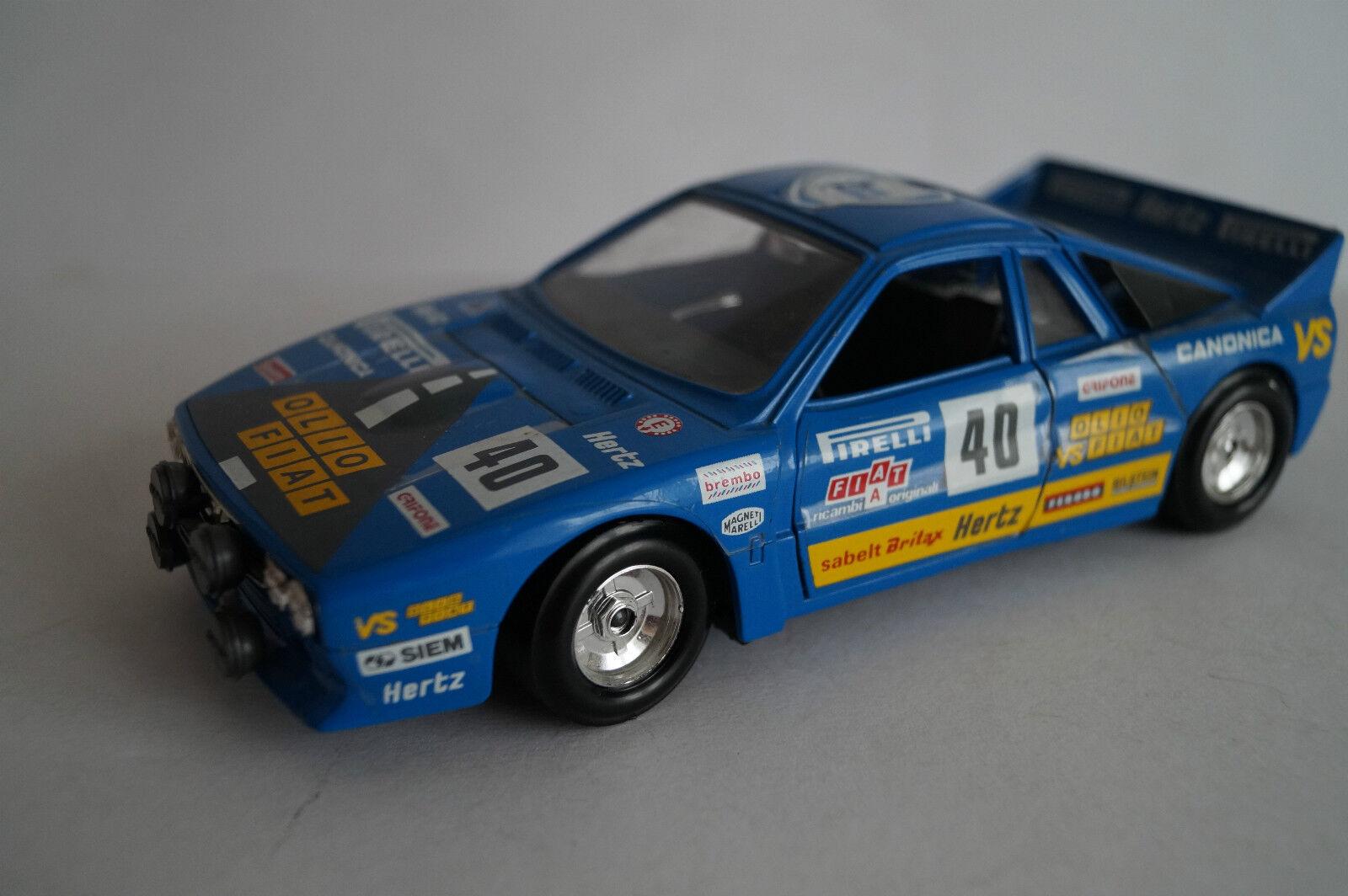 Bburago Burago maqueta de coche 1 24 Lancia Rally 037 037 037 f4fb4f