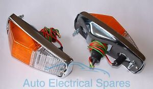 Lucas-l677-indicador-amp-lado-luz-lampara-X-2-1-Par-Para-Mgb-Triumph-Spitfire