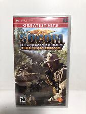SOCOM: U.S. Navy SEALs -- Fireteam Bravo (Sony PSP, 2005)
