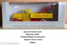 Speccast Camion en tôle Dépanneuse Shell Metalcraft Replica 1/20ème
