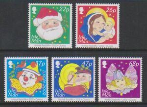 Isle-von-Mann-2002-Weihnachten-Set-MNH-Sg-1041-5