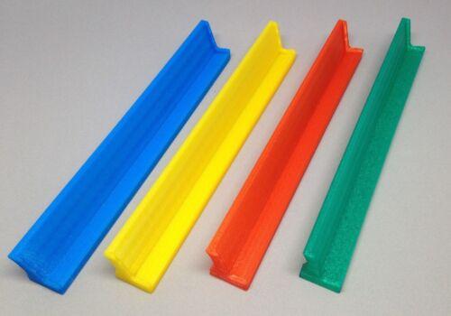 Tile Tray Holder Qwirkle Domino Scrabble Upwords Set of 4 VARIOUS colors