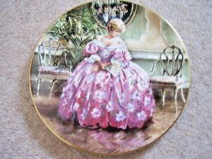 Royal Doulton England Porcelaine Plaque, Victoria-afficher Le Titre D'origine Fvalferj-07220252-581813175