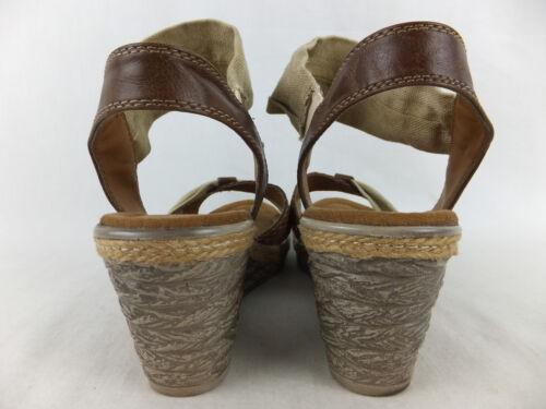 Sandalette Top Tozzi Keilabsatz Braun Marco 40 Keilsandalette Wedges Beige A0nxnwa8q
