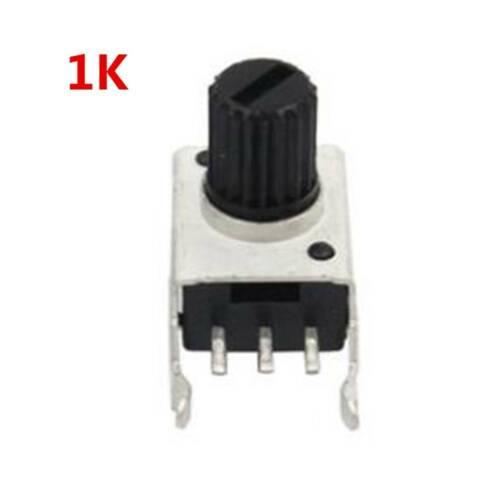 chic 10pcs Rv09 Vertical 12.5mm Resistor 9Type 3pin Seal Potentiometer