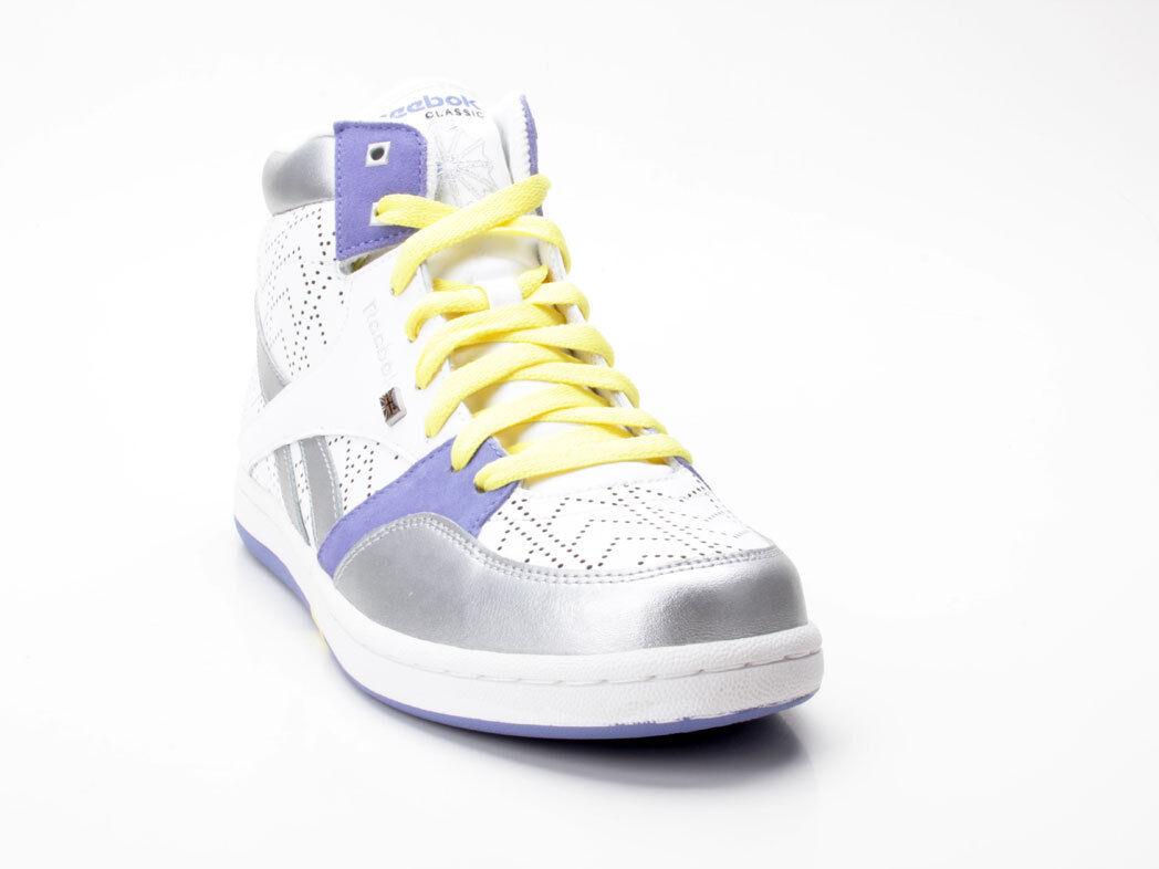 Reebok Courtee MID 32-269530 white-silver-purple white-silver-purple white-silver-purple a2ae69