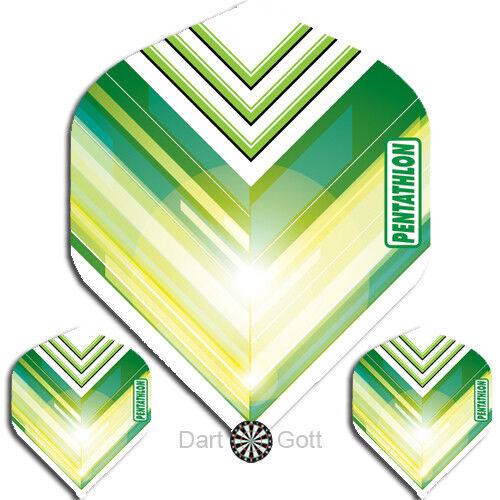 Standard Form Dartflights 100 Mikron PENTATHLON Flights Vizion V