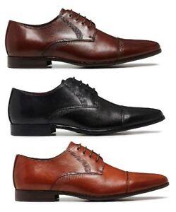 Mens-JULIUS-MARLOW-JADED-BLACK-BROWN-FORMAL-DRESS-WORK-CASUAL-LEATHER-SHOES