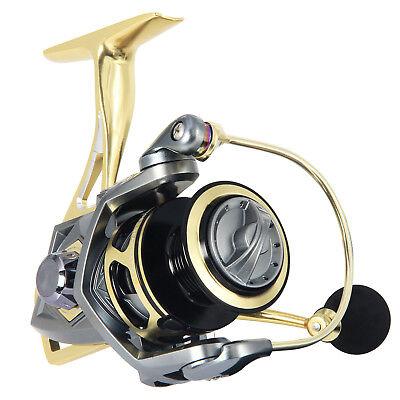 2500-5000 Series Saltwater Fishing Reels 10BB Aluminum Spool Spinning Reel  | eBay