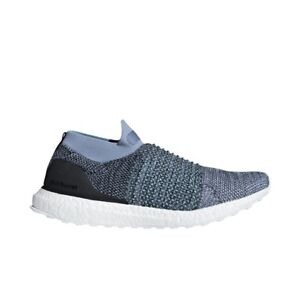 9c08c4489ae Adidas x Parley UltraBoost Laceless (Raw Grey Carbon  Blue) Men s ...