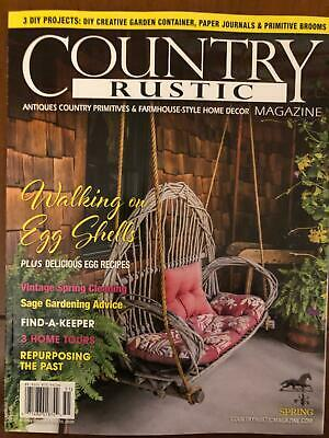 Country Rustic Magazine Spring 2020 Primitive Colonial Antiques Easter Ebay