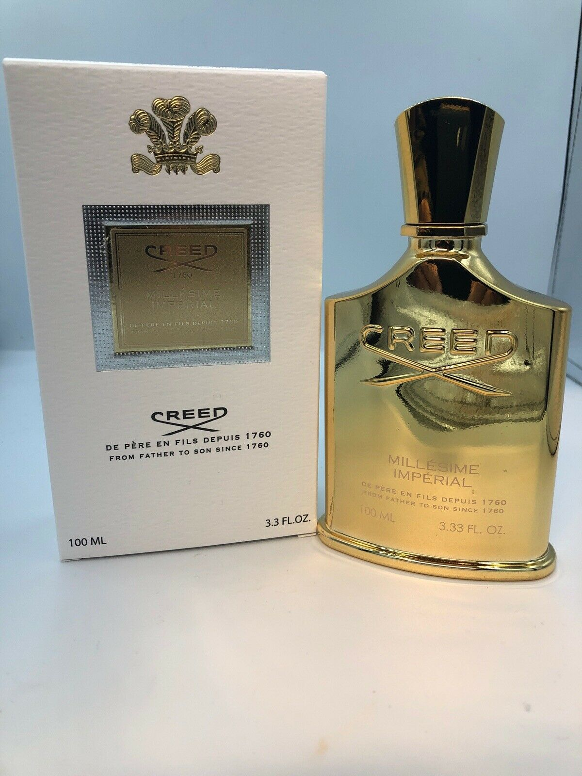 Creed Millesime Imperial Perfume Cologne for Men Women Unisex 3.3 oz New In Box