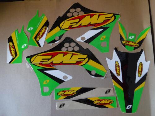 ONE  INDUSTRIES  TEAM FMF  KAWASAKI GRAPHICS KX250F KXF250  2009 2010 2011 2012