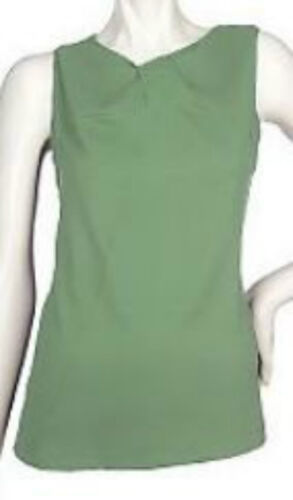 Kathleen Kirkwood Stretch Sheath Camisole with a Twist~A90374