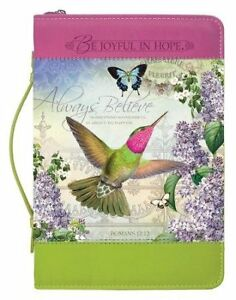 Always-Believe-Hummingbird-Bible-Cover-X-Large
