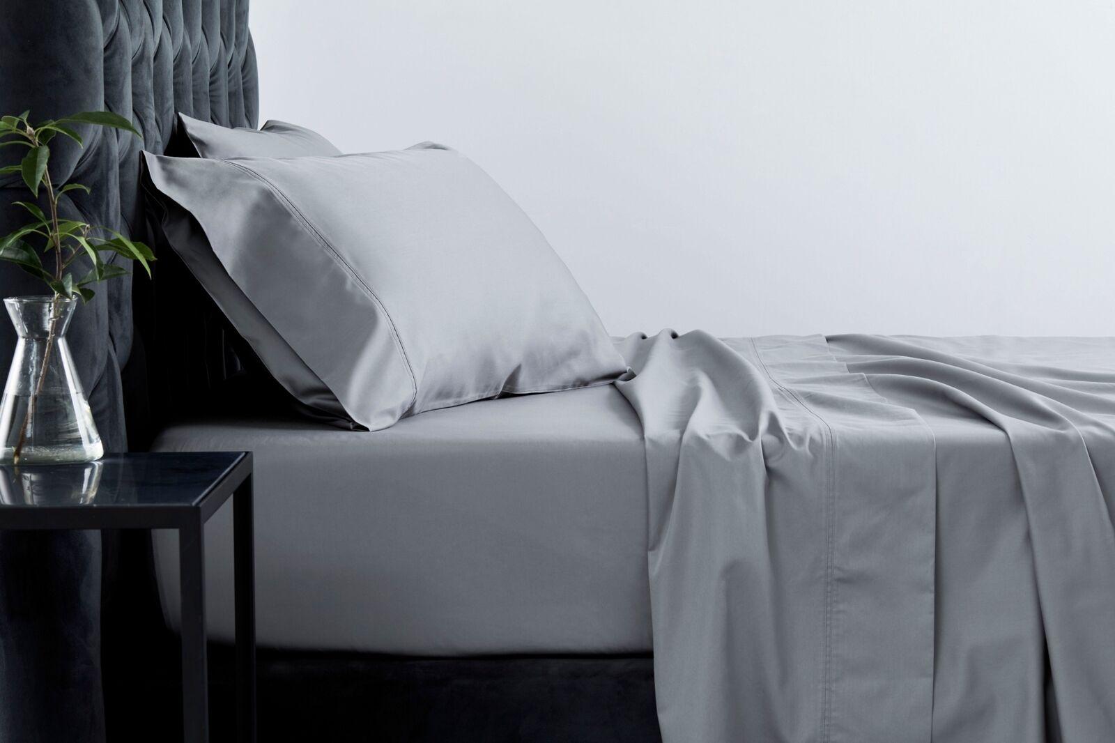 Sheridan 600tc Cotton Egyptian Blend Sheet Set Powder grau