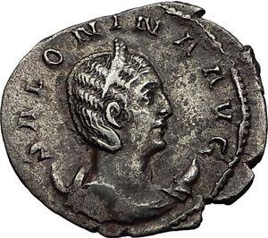 Salonina-257AD-Authentic-Genuine-Silver-Ancient-Roman-Coin-Venus-Love-i58981