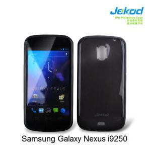 Jekod-black-TPU-gel-silicon-case-cover-screen-protector-for-Samsung-Galaxy-Nexus