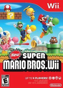New Super Mario Bros. Wii (Nintendo Wii) New