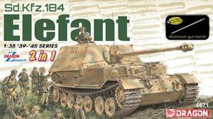 Sd.Kfz. 164 éléphant 2 en 1 kit dragon 1:35 dr6871