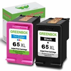 2 Pack HP 65XL ink cartridges Used in Envy 5055 5058 5052 ...