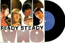 "THE WHO - READY STEADY WHO - RARE EP 7"" 45 VINYL RECORD"