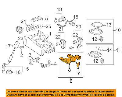 TOYOTA Genuine 58804-0C022-E0 Console Panel Sub Assembly