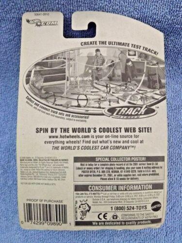 2001 Hot Wheels Collector No #111 EXPRESS LANE Orange w//5 Spoke Wheels