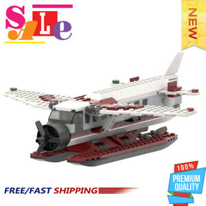 MOC-22067-Sea-Plane-Cessna-Caravan-Good-Quality-Bricks-Building-Blocks-Toys