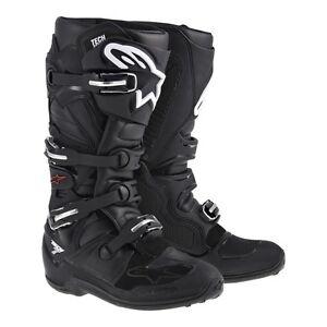 Alpinestars-TECH7-TECH-7-stivali-nero-MX-motocross-enduro-cross-BARCA