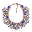 Fashion-Elegant-Women-Bib-Crystal-Pendant-Statement-Chain-Chunky-Choker-Necklace thumbnail 119