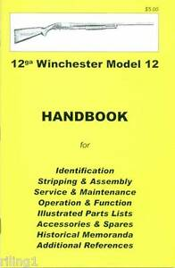 WINCHESTER-Model-12-Assembly-Disassembly-Manual