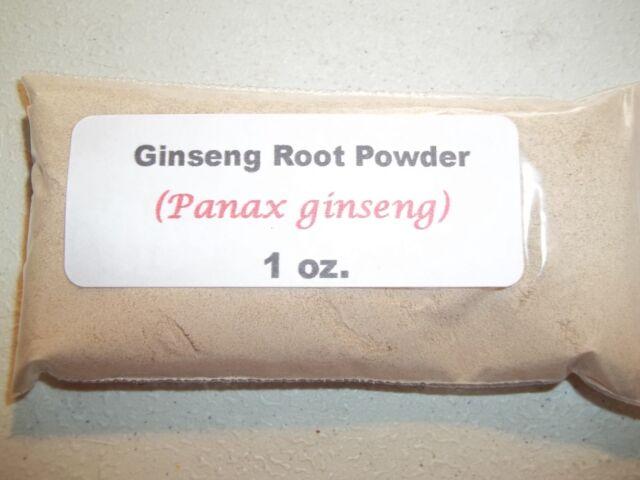 1 oz. Ginseng root powder (Panax ginseng)