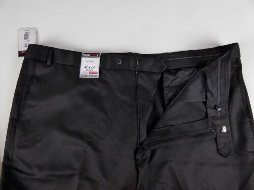 Roundtree /& Yorke Travel Smart Ultimate Comfort Stretch NWT Flat Frt Dress Pants