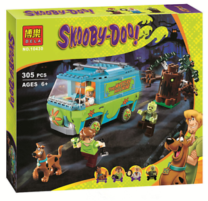 305PCs-Compatible-Scooby-Doo-Mystery-Machine-Bus-Building-Bricks-Pack-Kids-Gift