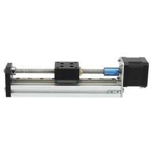 Bachin 1 8 Angle Linear Rail Motion Slide Table Cnc 100 200 300mm Dc 12 36v Ebay