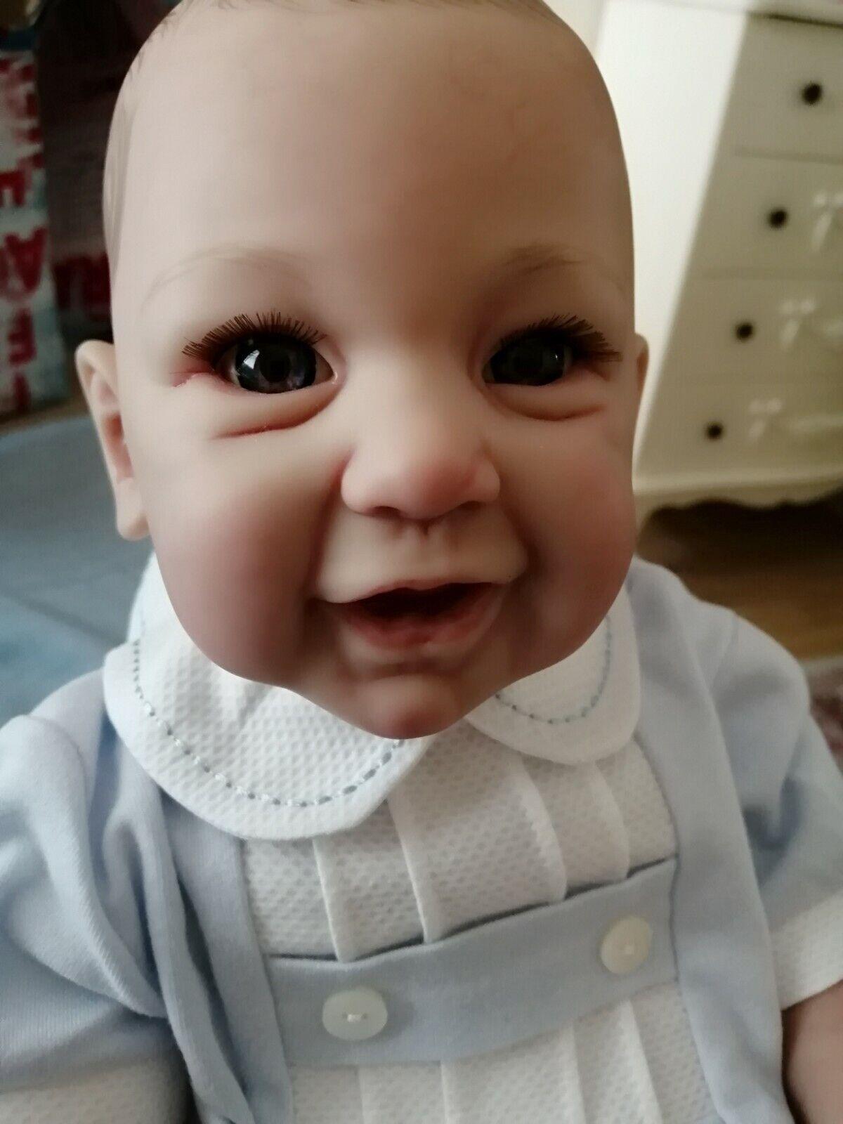Reborn baby boy.