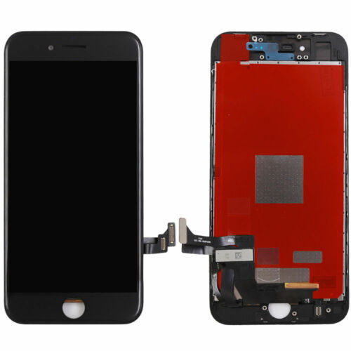 "NEW 4.7"" LED REPLACEMENT TOUCH SCREEN ASSEMBLY FOR IPHONE 8 JET BLACK"