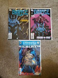 BLUE-BEETLE-Issues-1-amp-2-DC-2006-NM-Rebirth