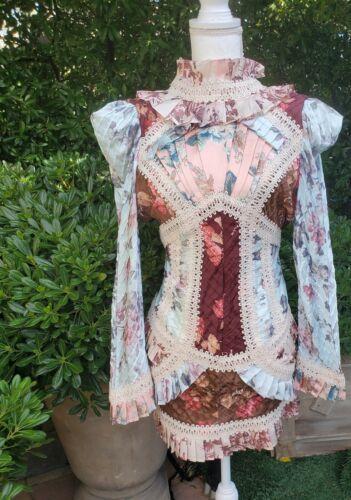 Victorian Floral Zimmerman Inspired Dress