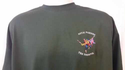 ROYAL MARINES THE TROOPER T-SHIRT