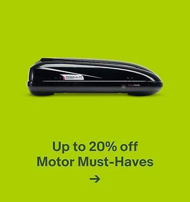 Up to 20% off Motor Must-Haves