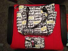 Barbie Graffiti Large Tote Bag & Small Wristlet Combo - NWT