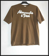 Abercrombie &Fitch Men's Brown Muscle T-Shirt Short Sleeve Top size M