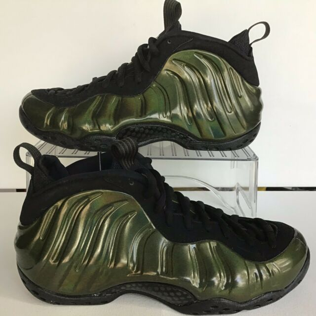 f888e5b5e44 Nike Air Foamposite One Legion Green Black Size 10 No Lid 314996 301 ...