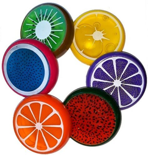 I Fruit Clay groß Früchte Obst Fruchtschleim Hüpfknete Knete Slime Knetmasse