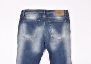 el precio más bajo a9d3a 84ca3 Detalles de Zara Vaqueros Distressed Hombre Vaqueros Talla EU-44, USA-34