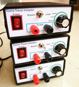 Details about I-V Curve Tracer adapter XY mode Oscilloscopes for components  testing