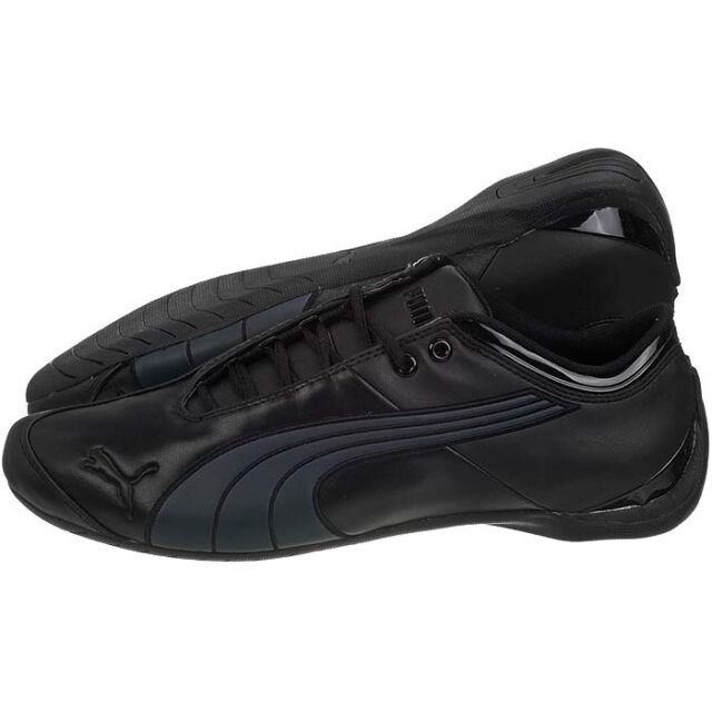 design de qualité 2f0a2 4686f Puma Future Cat M1 2012 Casual Lux Leather Shoes Brand New Black / Black /  Gray